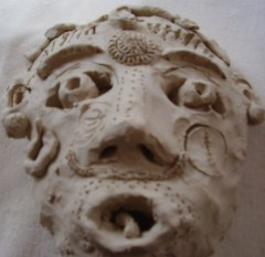 Mask created at a Spiral Gathering