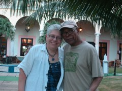 Adam and me in front of the Hotel Nacional in Havana